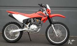 HONDA, CRF230, Hardly used, unwanted gift. In excellent