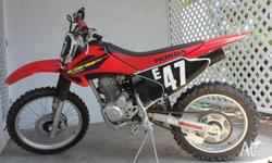 FOR SALE AS NEW THIS IS A VERY NEAT TRAIL BIKE WITH