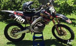 Selling my 2009 Honda CRF250R. Very reliable bike with