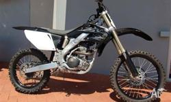HONDA,CRF250R,8,2008, MOTOCROSS, 249cc, 5 SPEED MANUAL,