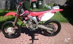 This is my crf450r willing to wasp for a registered