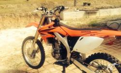 Honda Crf 450r top condition hardly ridden since buying