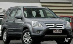 HONDA,CRV (4x4),2005 UPGRADE,2006, 4WD, Grey, GREY