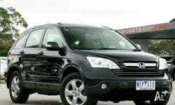 HONDA,CRV (4x4),MY07,2007, 4x4, Black, 4D WAGON,