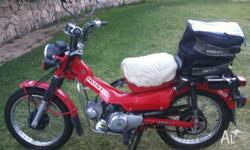 Postie Bike in very good condition. Used for 50km round
