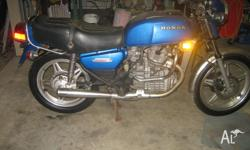 CX500, RWC, good clean bike, runs well. regretful sale