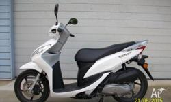 THIS IS A VERY RELIABLE SCOOTER AND IS LIKE NEW ONLY