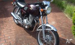 CLASSIC STYLE HONDA GB500TT TOURIST TROPHY. ABSOLUTLY