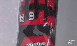 HONDA GLOVES, 2009, JETSKI, HONDA gloves, with Honda