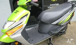 HONDA,LEAD 100,6,2010, green, SCOOTER, 100cc, 5kW,