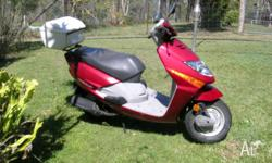 Selling Honda Lead Scooter due to health reasons,