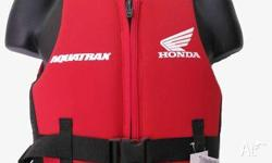 HONDA LIFE JACKET PFD TYPE 2, 2009, RED, Honda Life