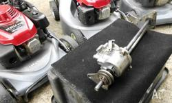 Honda HRU216 gearbox repairs. Is your mower not