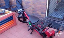 Honda Postie. Custom Postie for sale or swap. Brand new