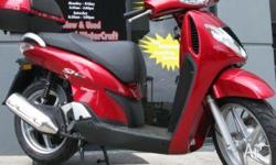 HONDA,SH150i,8,2009, RED, SCOOTER, 150cc, 12kW,