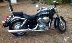 FOR SALE Honda Shadow VT750 2003 20000km. It's been