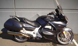 HONDA,ST1300A,2007, ROAD, 1.3, 4cyl, 5 SPEED MANUAL,