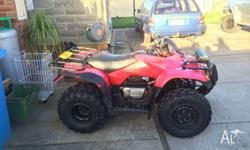 2005 TRX 250 2WD Completely rebuilt engine, bottom end