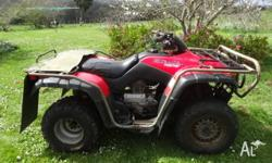 2003 Honda TRX 350 2WD in good condition. Selling