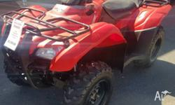 HONDA TRX420FPA9UR1 FOURTRAX * INDEPENDANT REAR