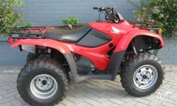 HONDA,TRX420TM (4x2),7,2010, ATV, 420cc, 5 SPEED