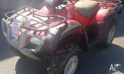 HONDA TRX 500 FPEB 2011 4X4 POWER STEER ELECTRIC SHIFT
