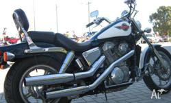 HONDA,VT1100C (SHADOW),1994, TWO TONE, CRUISER, 1099cc,