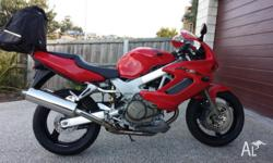 - 2007 Honda VTR1000F in near showroom condition - 6200
