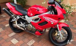 Excellent Bike, very powerful, very well taken care of,