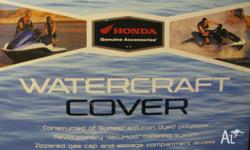 HONDA WATERCRAFT COVER, 2009, JETSKI, Genuine Honda
