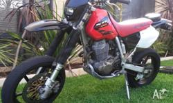 2003 Honda XR400R for sale which was fully rebuilt by