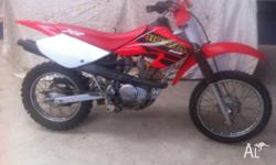 Very reliable bike, recently serviced . Paddock & trail