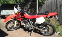 For sale Honda XR 250cc road/trail 2006 model one
