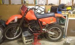 I am selling my honda xr 350. It requires a new shock