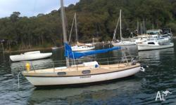 This Hood 23, 'Hoodunit' has a fixed keel and is