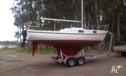 Hood 23ft for sale. Me and my mate spent around 300