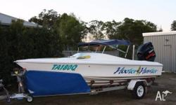Reuctant sale, but our Haines Hunter boat 'Hooter