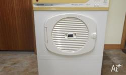 Hoover heavy duty dryer with 5kg capacity. Australian