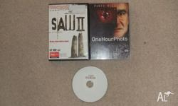 "For Sale - Three Horror DVDs, ""One Hour Photo"", ""The"