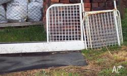 Horse truck dividers x 2 plus other spare parts. Also