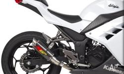 Hotbodies Kawasaki Ninja 300 2013 MGP Growler Exhaust -