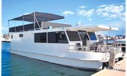 HOUSE BOAT G22, This is a new vessel ready to be named!