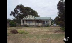 House for sale in lake bolac Approx 3/4 acres directly