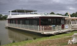 DESIRE is a high quality professionally built houseboat