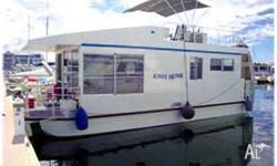 HOUSEBOAT KNOT HOME, 2010, HOUSEBOAT. model, 70hp