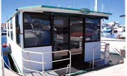 HOUSEBOAT PEARL, 2000, HOUSEBOAT. model, 4 stroke