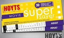 Grab some cheap Hoyts Movie tickets. Just $13 each.