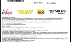 Hoyt's tickets $12 Events Cinemas& Great Union tickets