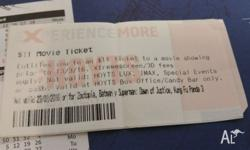 Hoyts Voucher - 5 available 11 bucks each, will go for