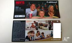 Hi all, I'm offering to sell my Hoyts Cinevouchers